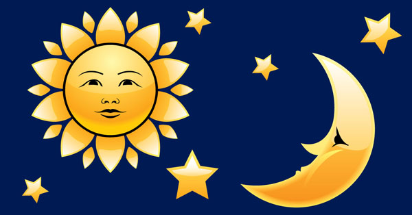 Kisah Matahari dan Bulan