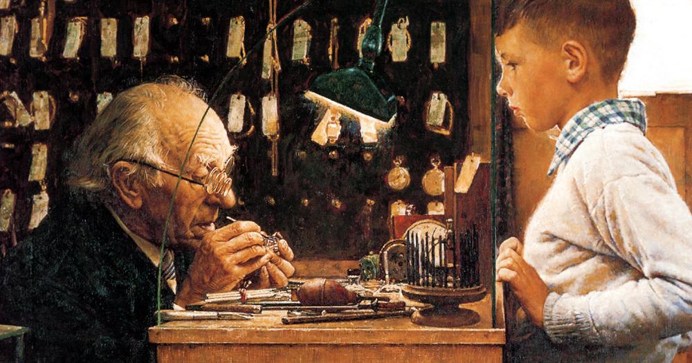 Tukang Arloji Herman Josep