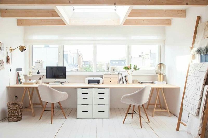 14 Inspirasi Desain Ruang Kantor Minimalis di Rumah
