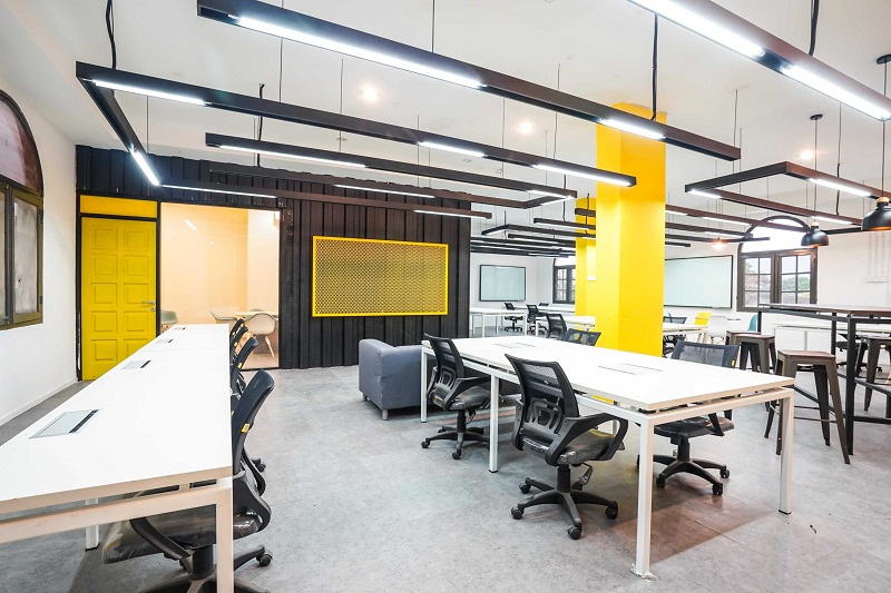 4 Desain Kantor Milenial Berwarna Cerah yang Bikin Bahagia