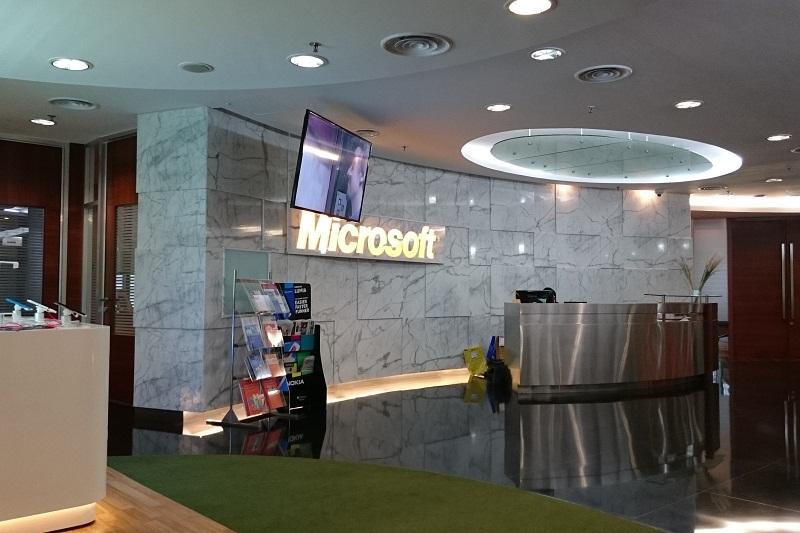 Ada Kursi Pijat di Kantor Microsoft Indonesia