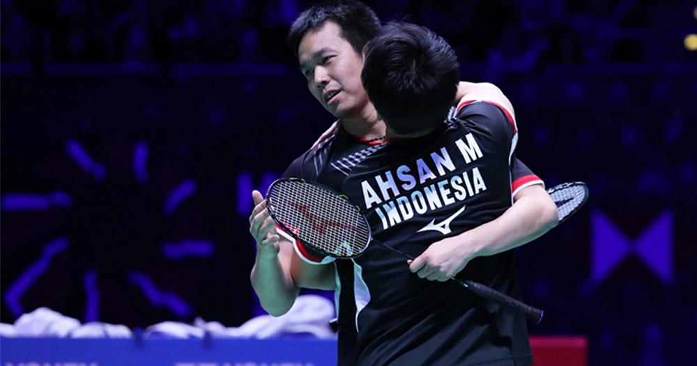 Ahsan Hendra, wakil Indonesia yang jadi juara All England
