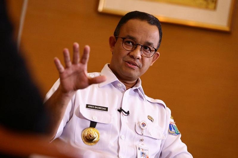 Anies Minta Perkantoran Pemprov DKI Jakarta Bikin Drainase Vertikal