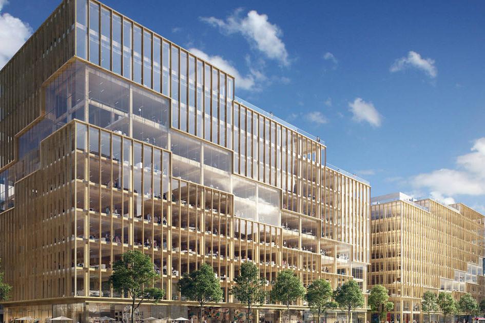 Bangunan Ini Akan Jadi Gedung Kantor Kayu Tertinggi di Kanada