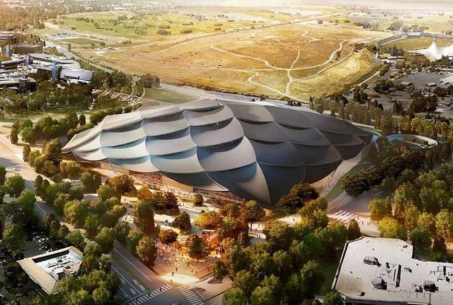 Calon Kantor Baru Google Menyerupai Tenda Raksasa