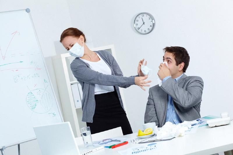 Cegah Penularan Flu di Kantor dengan Cara Sederhana