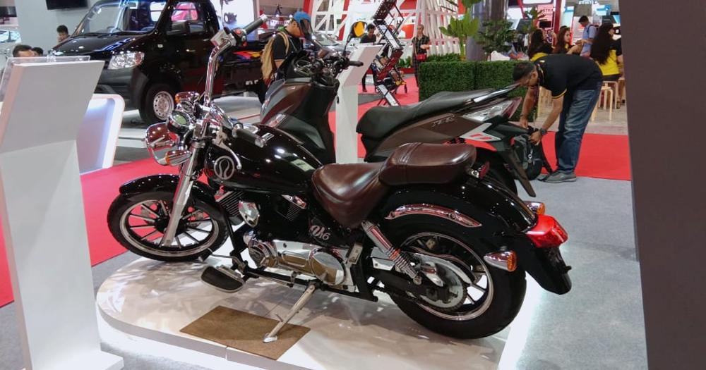 Cukup dengan uang 50j jutaan bisa bawa pulang motor ala Harley ini
