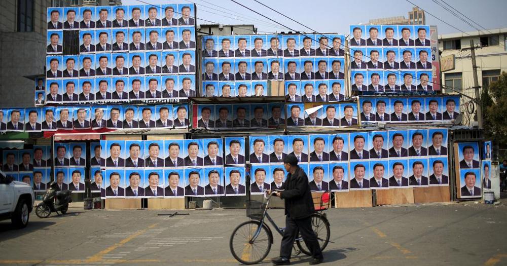 Ditempeli Poster Presiden China, Gedung Ini Tak Jadi Digusur
