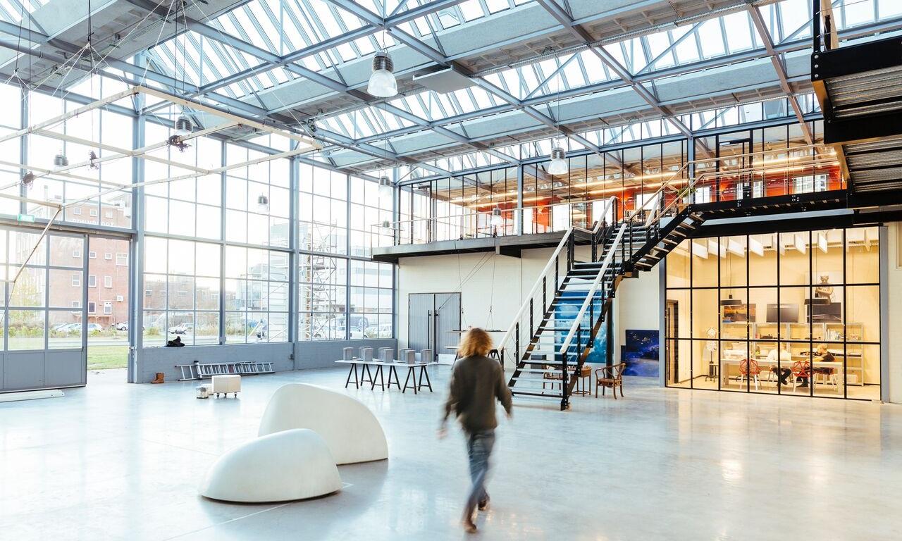Dream Factory, Pabrik Kaca yang Dipugar Jadi Kantor Arsitek
