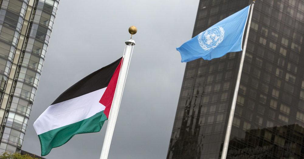 Sejarah Tercipta, Bendera Palestina Kini Berkibar di Markas PBB