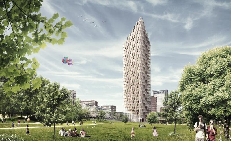 Gedung Kayu Tertinggi di Dunia Akan Hadir di Swedia