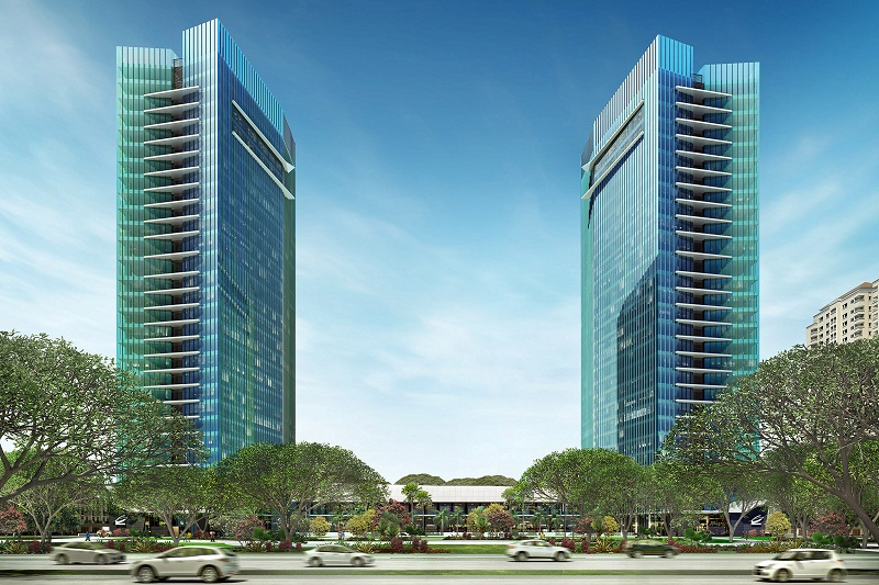 Gedung Pencakar langit, Kolaborasi Perkantoran dan Pusat Lifestyle