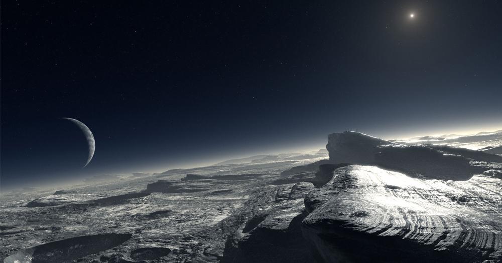 Gunung Aneh Dipusat Planet Pluto