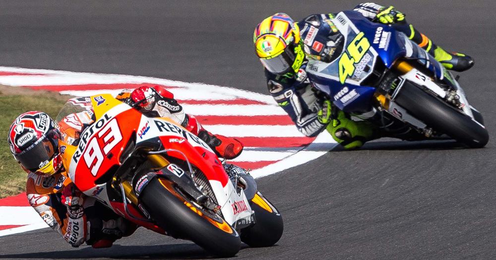 Insiden Valentino Rossi dan Marc Marquez