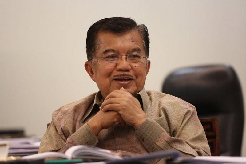 Jusuf Kalla Terima Laporan Rencana Pembangunan Kantor Dewan Masjid Indonesia