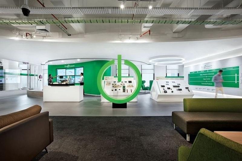 Kantor Baru Schneider Menggunakan Teknologi Canggih