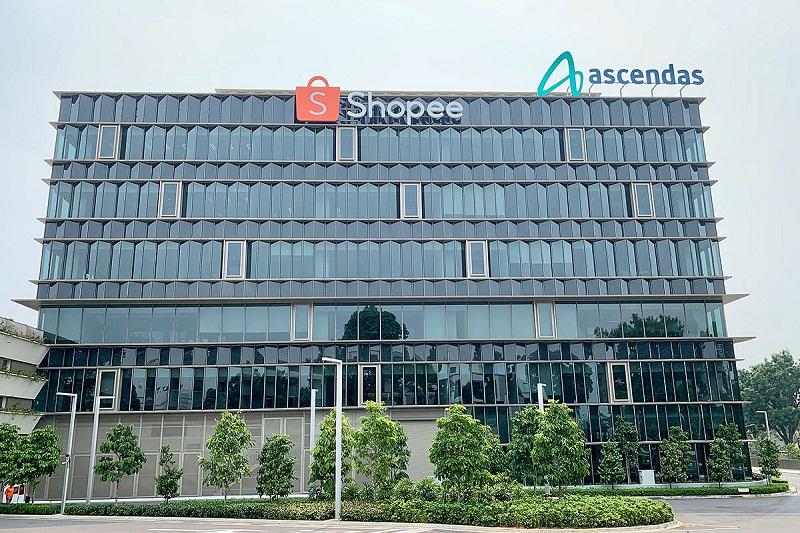 Kantor Baru Shopee, Open Space yang Penuh Fasilitas