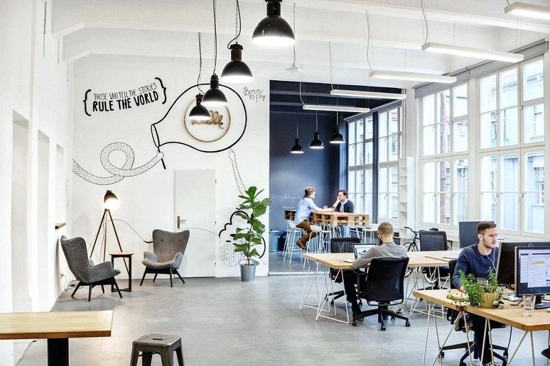 Konsep Ruang Kantor Modern dan Lawas Jadi Tren Tahun Ini