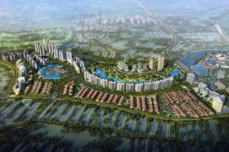 NavaPark, Proyek Perkantoran Kolaborasi Hongkong Land