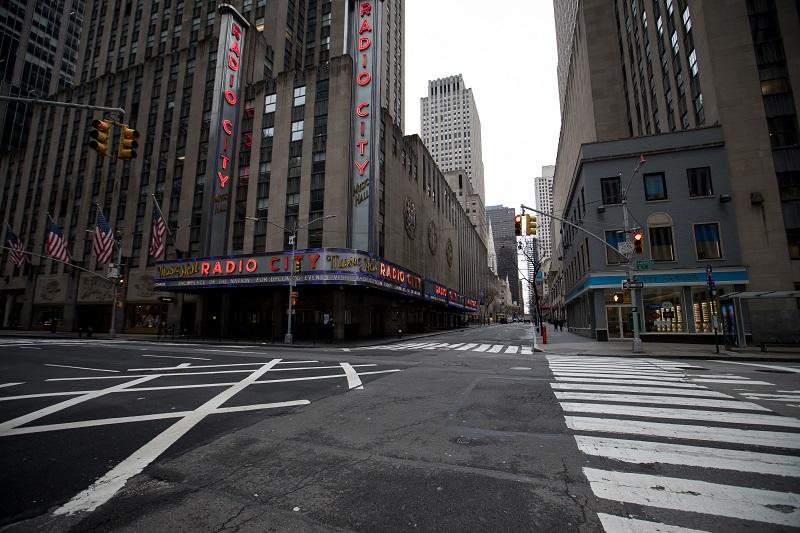 New York dan Kota-kota Besar Dunia yang Kini Sunyi