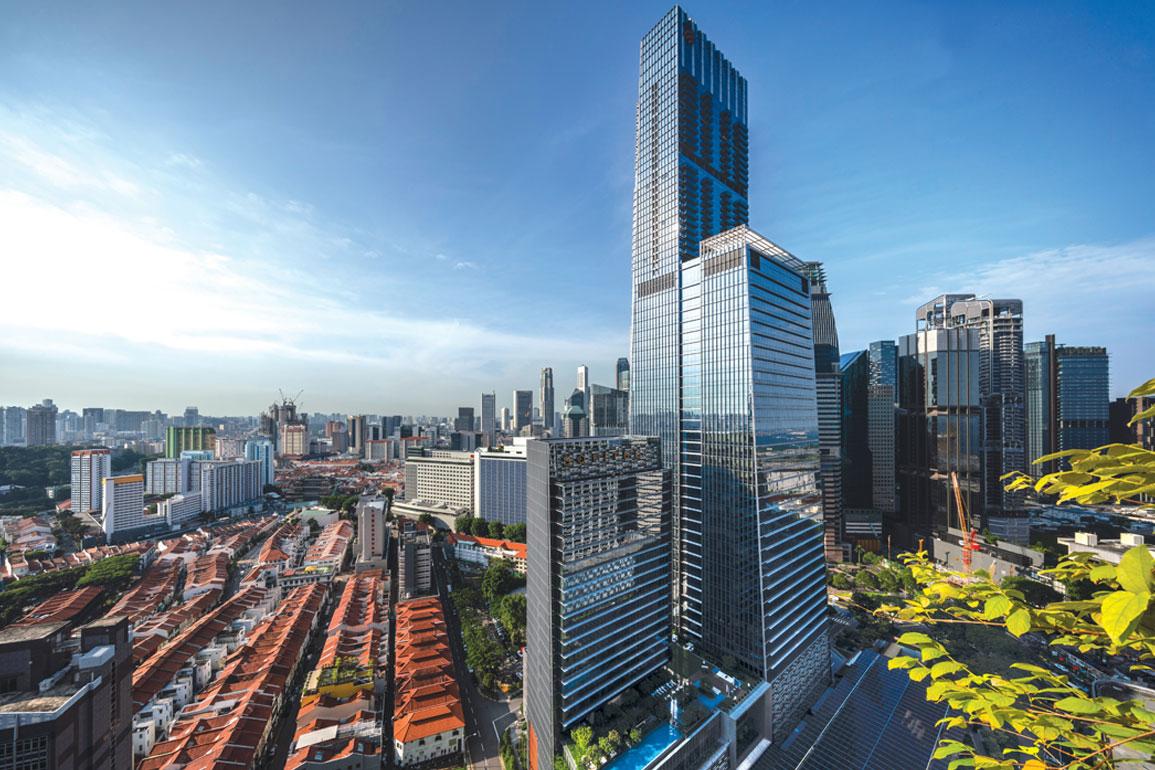 Pasar Sewa Kantor di Singapura Terus Naik Signifikan
