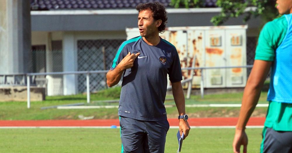 Pelatih tim nasional Indonesia, berbicara soal penyerang ideal yang dibutuhkan timnya