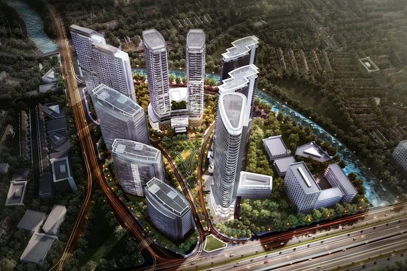 Pembangunan Infrastruktur Dongkrak Pengembangan Puri Indah
