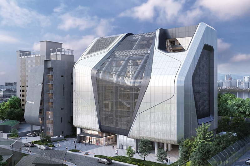 Pembangunan Kantor Baru Agensi Blackpink YG Entertainment Selesai