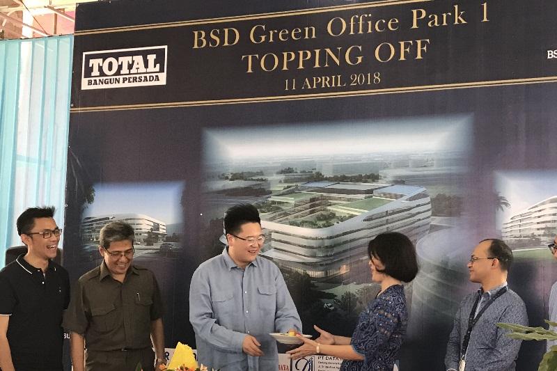Pembangunan Perkantoran BSD Green Office Park I Sudah Topping Off