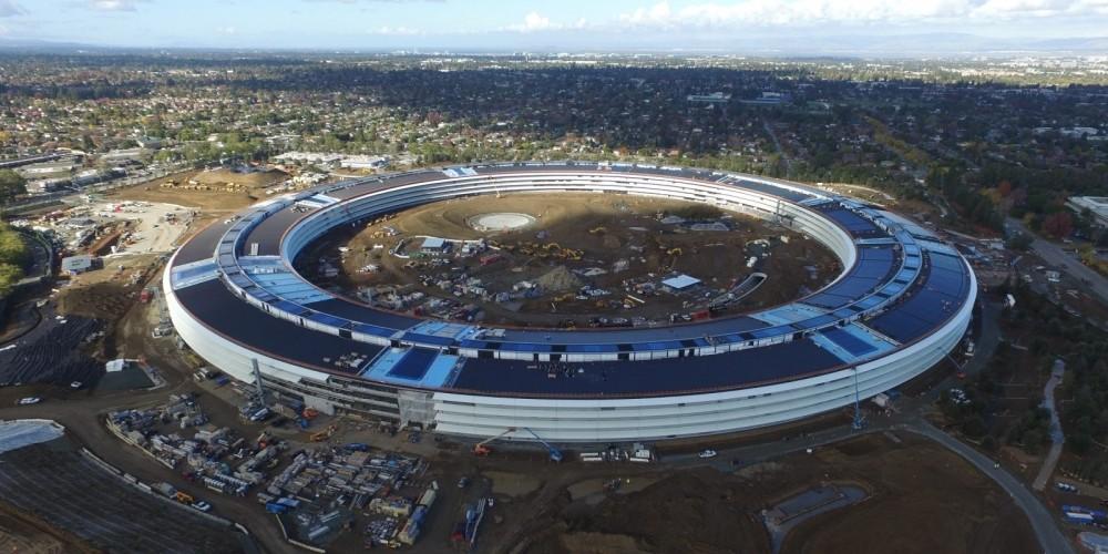 Penampakan Kantor Pusat Apple yang Hampir Rampung