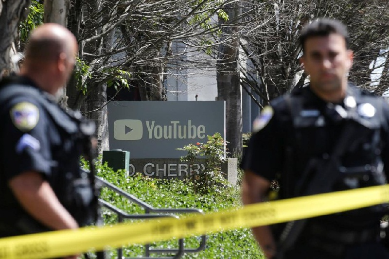 Penembakan di Kantor Pusat YouTube, Pelaku Tewas Bunuh Diri
