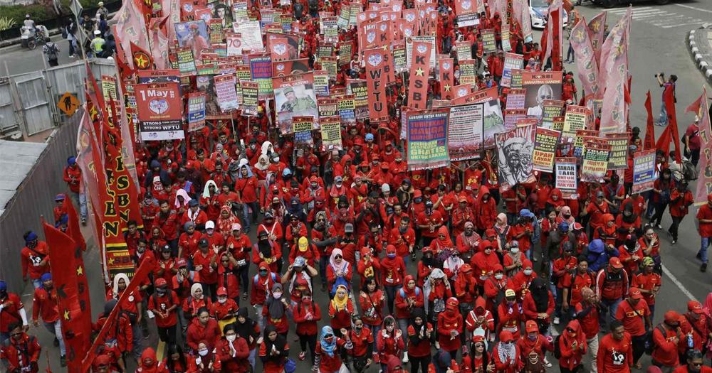Peringatan Hari Buruh didepan Istana, simak rekayasa lalu lintasnya