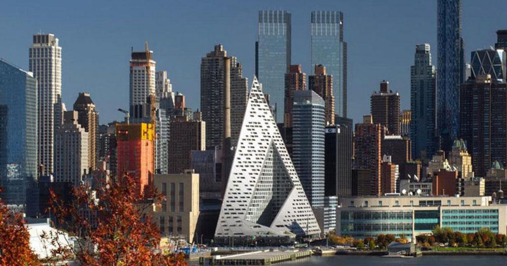 Piramid di Kota New York