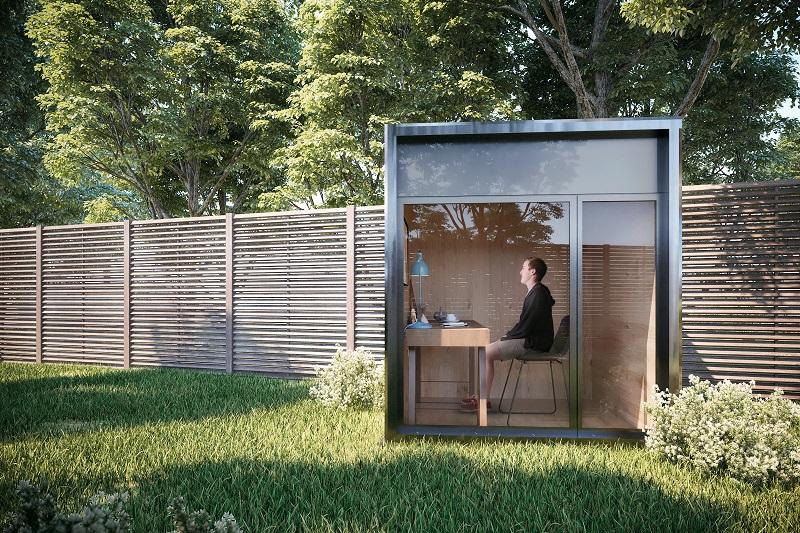 Ruang Kantor Mini Portable Cocok Untuk WFH