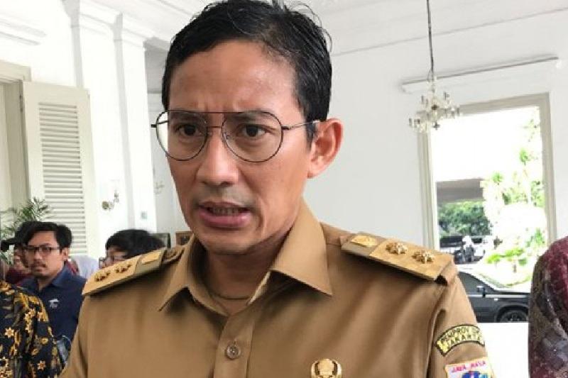 Sandiaga Ingin Pagar Perkantoran di Sudirman-Thamrin Ramah Pejalan Kaki