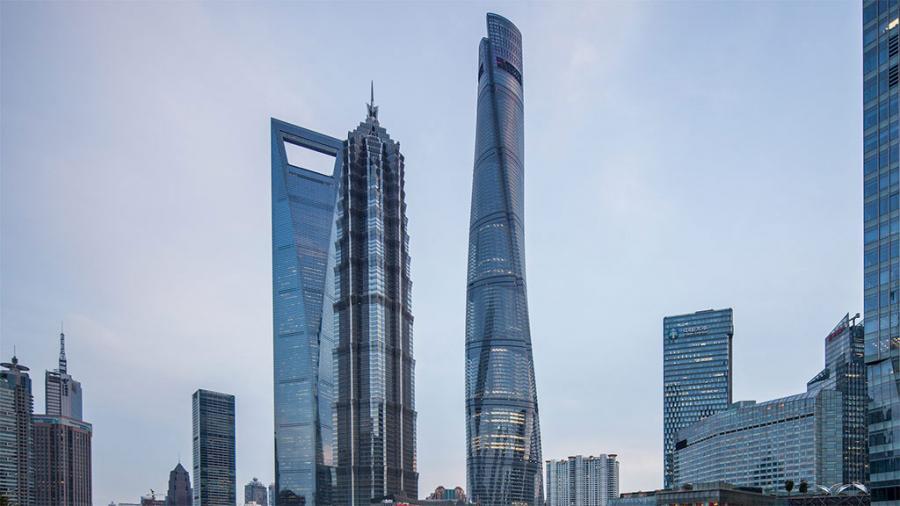Urusan Gedung Pencakar Langit, China Terbaik di Dunia