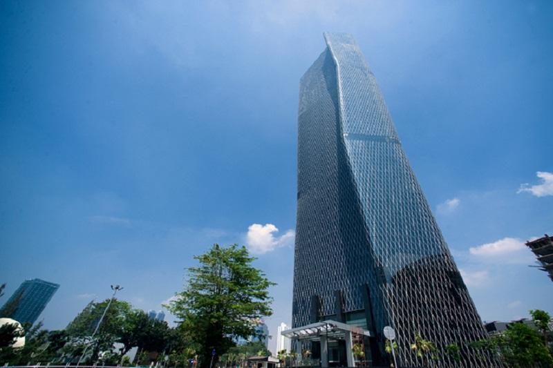 Sinarmas Land Borong 13 lantai Bakrie Tower