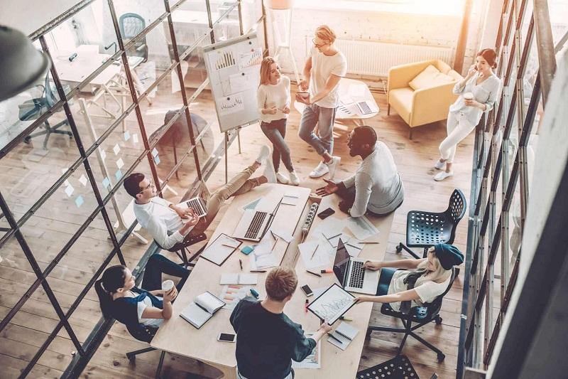 Startup Cenderung Sewa Kantor di Kawasan Pusat Bisnis
