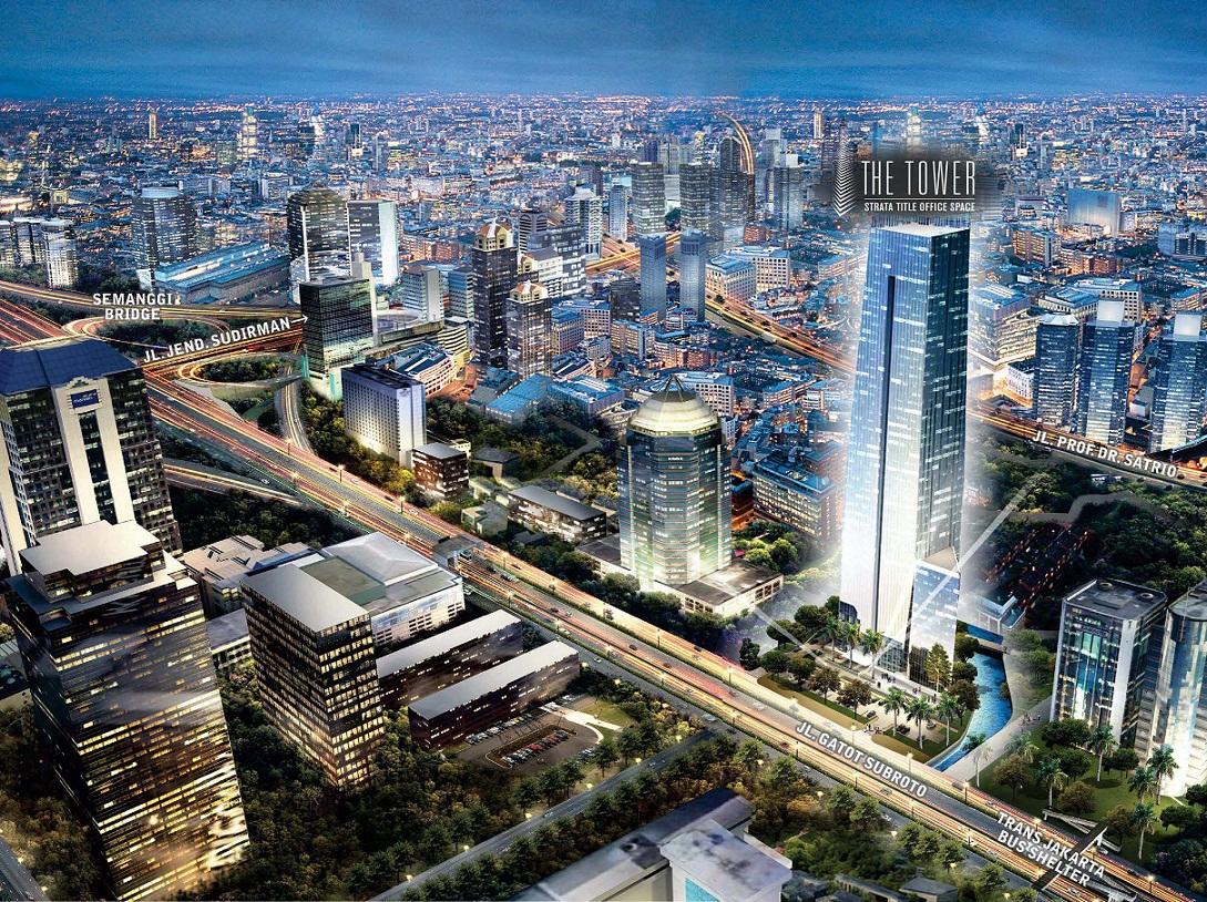 The Tower, Gedung Perkantoran Premium di Pusat Bisnis Jakarta