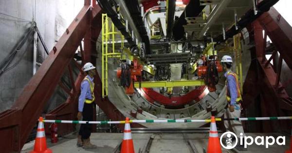Antareja, bor raksasa yang siap membantu proyek MRT