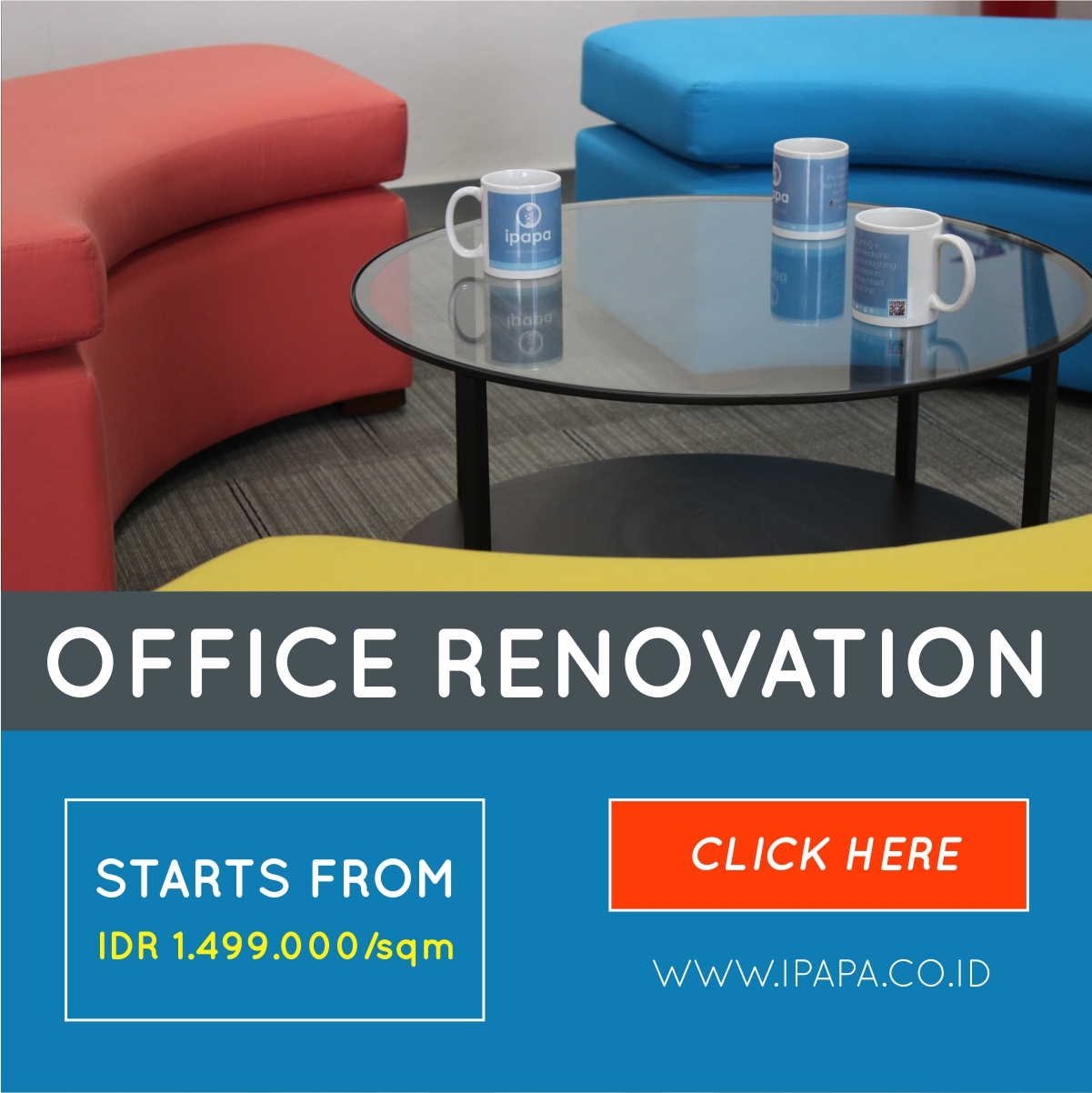 Office Renovation Website (Blog)